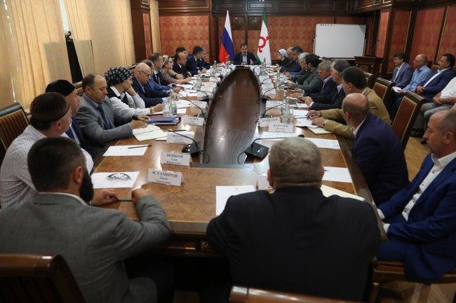 Совещание в правительстве Ингушетии
