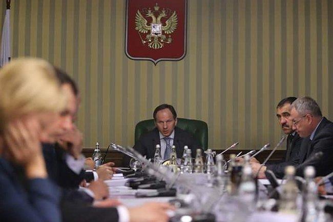 Заседание рабочей группы по топливно-энергетическому комплексу СКФО