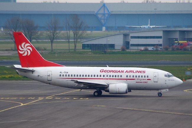 МинтрансРФ ограничил полеты «Грузинских авиалиний»