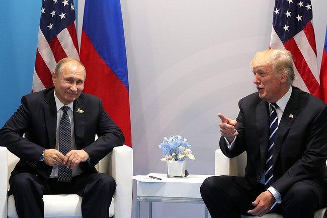 Трамп поблагодарил Владимира Путина  завысылку американских дипломатов изРФ