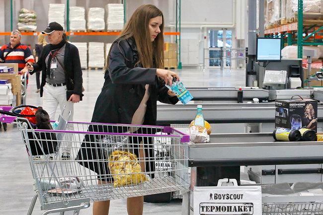 Росстат: Дефляция вернулась в РФ через год